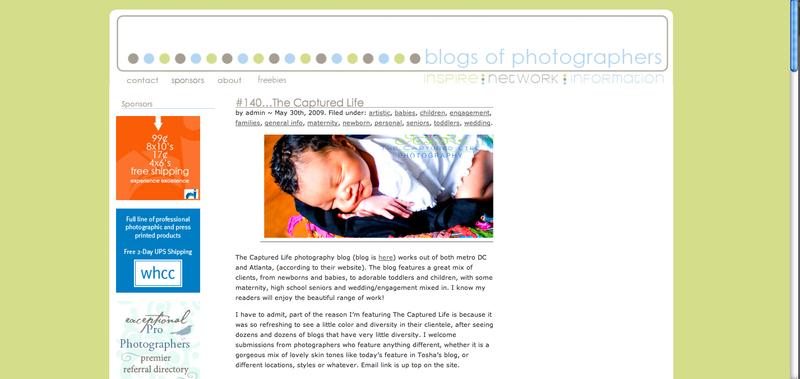 TCL Blogs pf Photogs